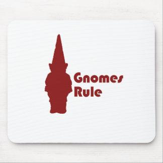 Gnomes Rule Mouse Mats