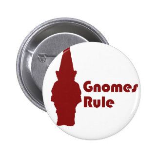 Gnomes Rule Pinback Buttons