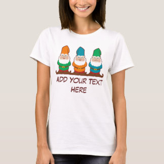 Gnomes To Personalize T-Shirt
