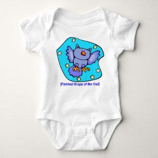Gnomewear del búho mameluco de bebé