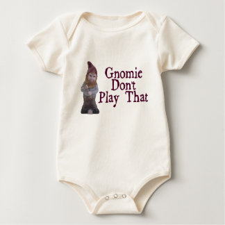 Gnomie Don't Play That Baby Bodysuit