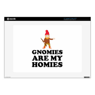 "Gnomies Are My Homies Decal For 15"" Laptop"