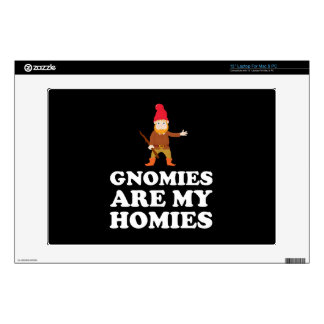"Gnomies Are My Homies Decals For 13"" Laptops"