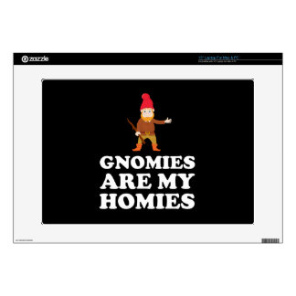 Gnomies Are My Homies Decals For Laptops
