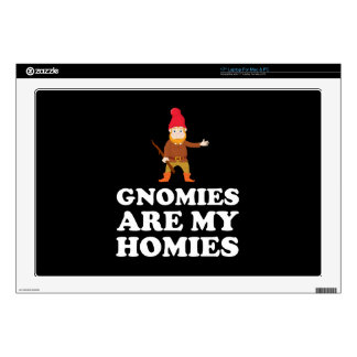 Gnomies Are My Homies Skin For Laptop