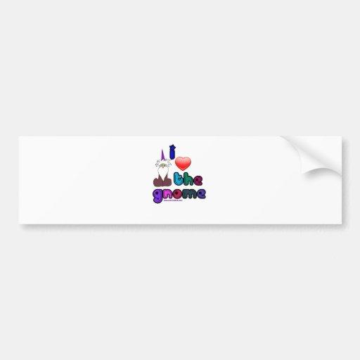 Gnomies Bumper Sticker