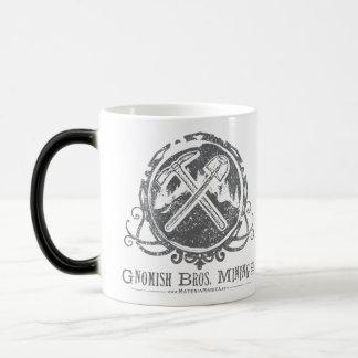 Gnomish Cup Morphing 11 Oz Magic Heat Color-Changing Coffee Mug