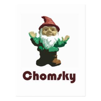 Gnomo Chomsky Tarjetas Postales