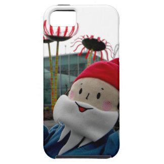 Gnomo de cristal de la flor iPhone 5 carcasa