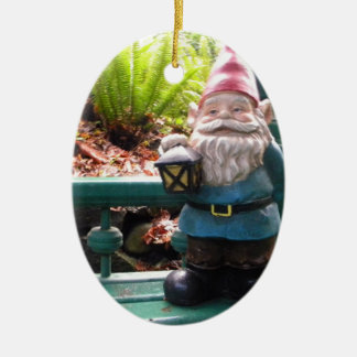 Gnomo de Gazeebo Ornamento Para Reyes Magos