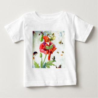 Gnomo de la amapola tee shirt