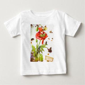 Gnomo de la amapola tshirts