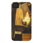 Gnomo de la cabina Case-Mate iPhone 4 cárcasas