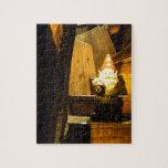 Gnomo de la cabina puzzle con fotos