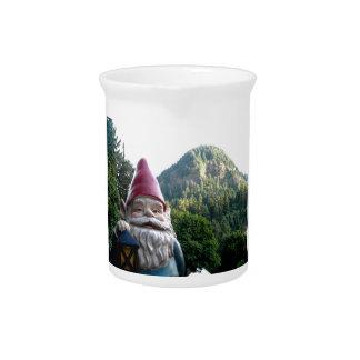 Gnomo de la montaña jarra de beber