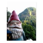 Gnomo de la montaña tarjetas postales