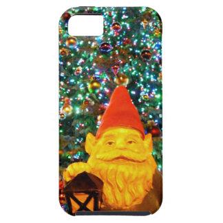 Gnomo de las Felices Navidad iPhone 5 Cobertura