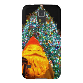 Gnomo de las Felices Navidad Carcasas De Galaxy S5