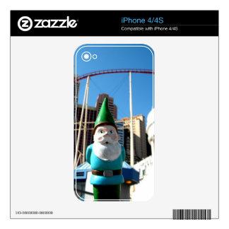 Gnomo de Nueva York Calcomanías Para iPhone 4S