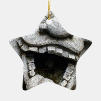 gnomo de risa del jardín del cemento ornamento para reyes magos