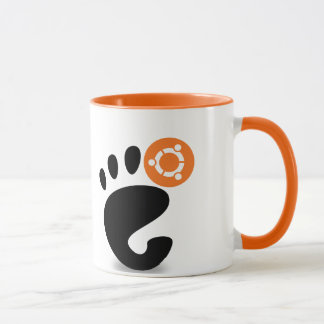Gnomo de Ubuntu Taza