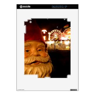 Gnomo del carnaval calcomanías para el iPad 2