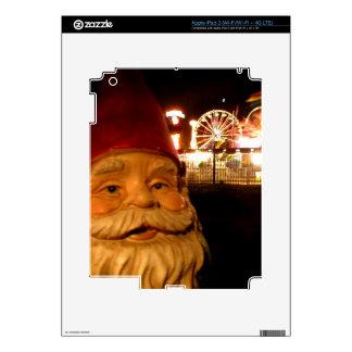 Gnomo del carnaval pegatina skin para iPad 3