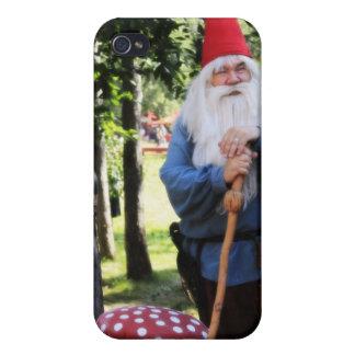 Gnomo del jardín iPhone 4 carcasa
