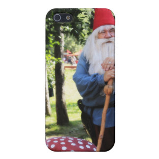 Gnomo del jardín iPhone 5 funda
