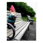 Gnomo del parque del capitolio tarjetas postales