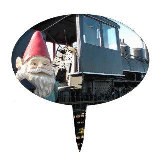 Gnomo del tren figuras para tartas