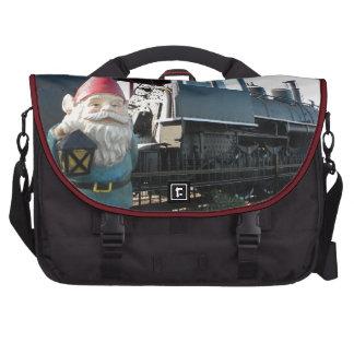 Gnomo del tren bolsas de ordenador