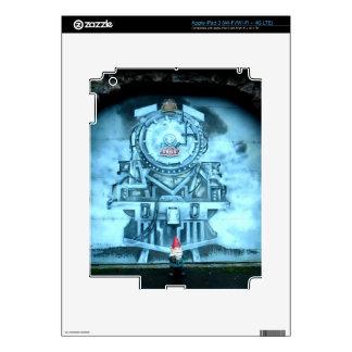 Gnomo del túnel del tren iPad 3 pegatinas skins