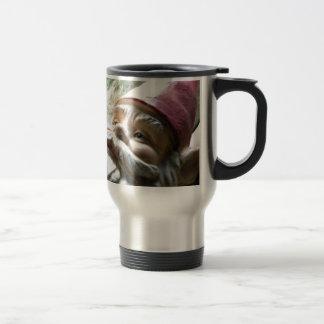 Gnomo del viaje por carretera taza de café