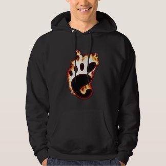 Gnomo en el fuego pulóver