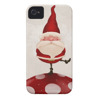 Gnomo en hongo Case-Mate iPhone 4 protectores