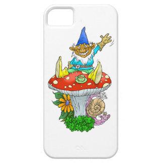 Gnomo feliz en una cubierta del teléfono funda para iPhone SE/5/5s