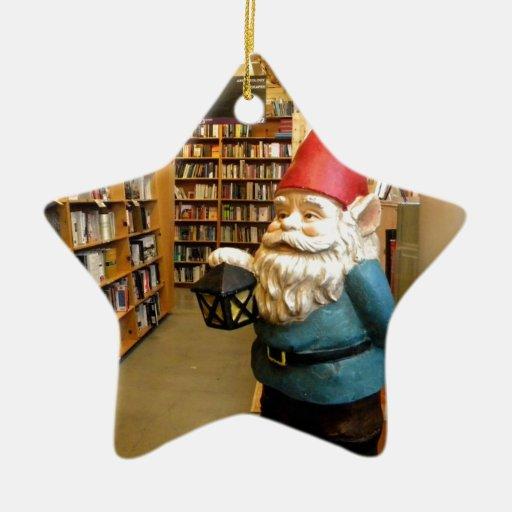 Gnomo I de la biblioteca Ornaments Para Arbol De Navidad