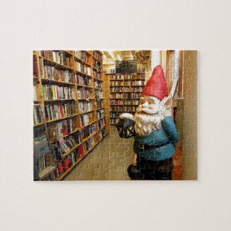 Gnomo I de la biblioteca Rompecabeza Con Fotos