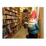 Gnomo I de la biblioteca Tarjeta Postal