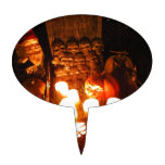 Gnomo I del cementerio Decoración De Tarta