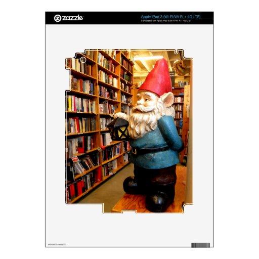 Gnomo II de la biblioteca iPad 3 Skin