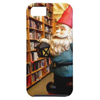 Gnomo II de la biblioteca iPhone 5 Fundas