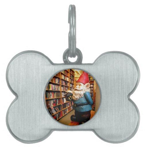 Gnomo II de la biblioteca Placas De Mascota