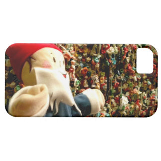 Gnomo II de la pared de la goma Funda Para iPhone SE/5/5s