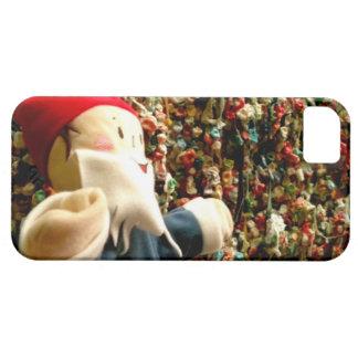 Gnomo II de la pared de la goma iPhone 5 Carcasas