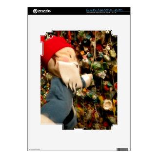 Gnomo IV de la pared de la goma iPad 3 Skins