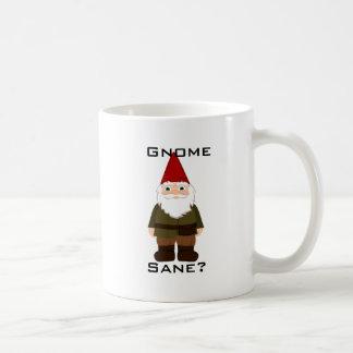 ¿Gnomo, sano? Taza de café