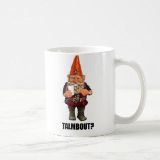 ¿Gnomo Talmbout? (Versión de la vuelta) Tazas De Café