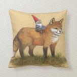 Gnomo y almohada del Fox